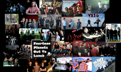 Sonoma County rock band collage